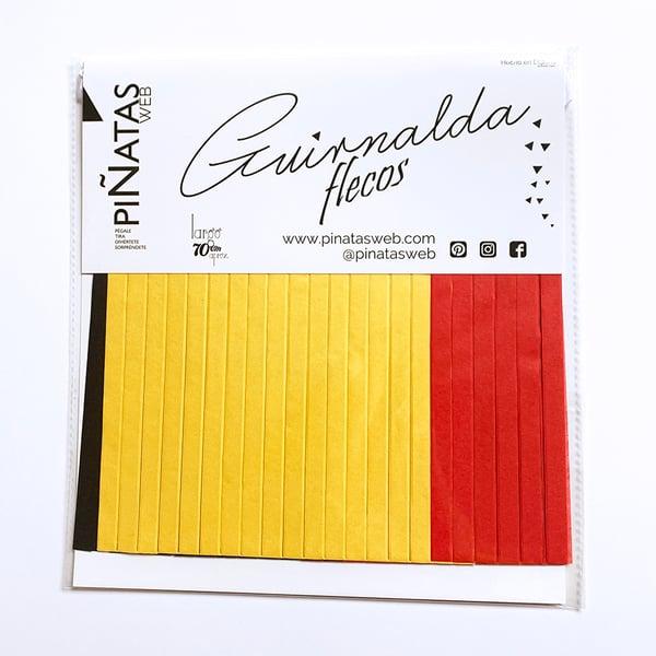 Image of Guirnalda de flecos Fire