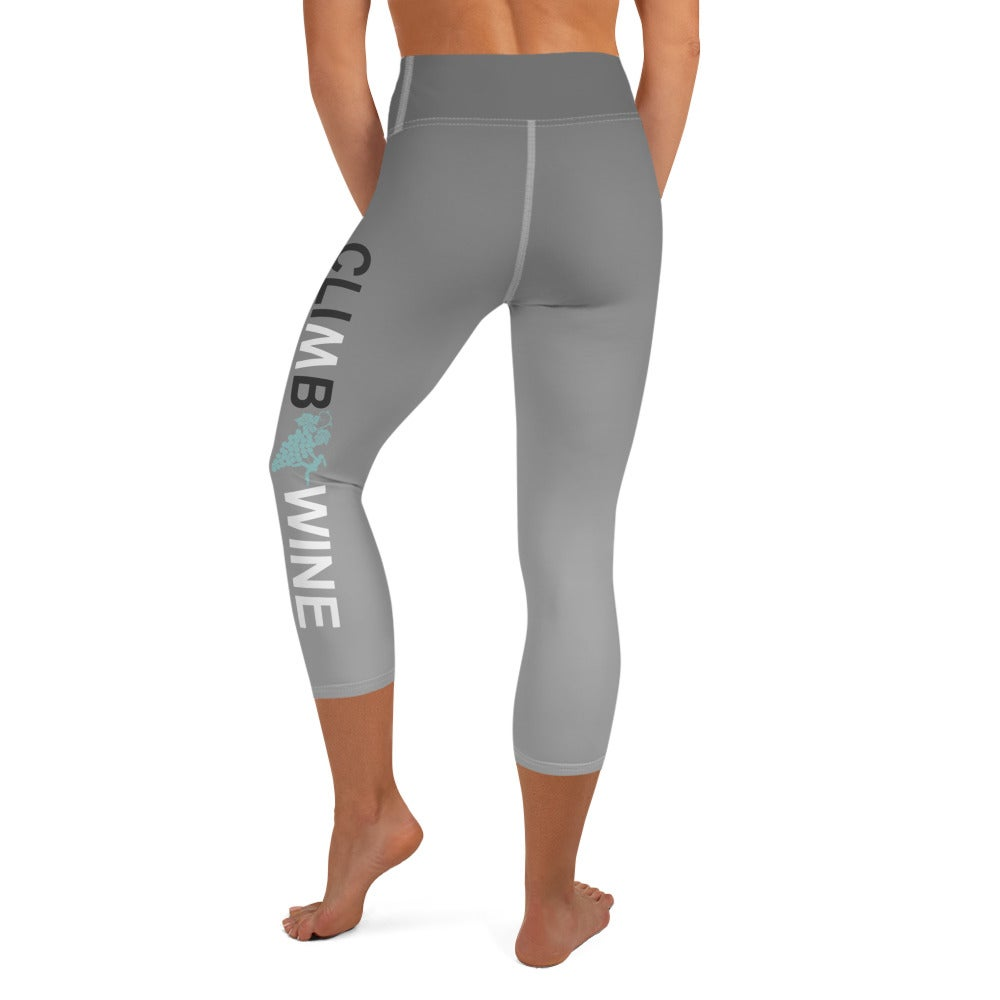 Image of Indoor Crop Leggings: Grey