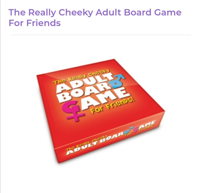 Image of The Really Cheeky Adult Board Game