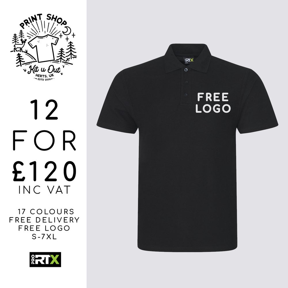 Image of 12 RX101 Pro Polo Shirts Deal