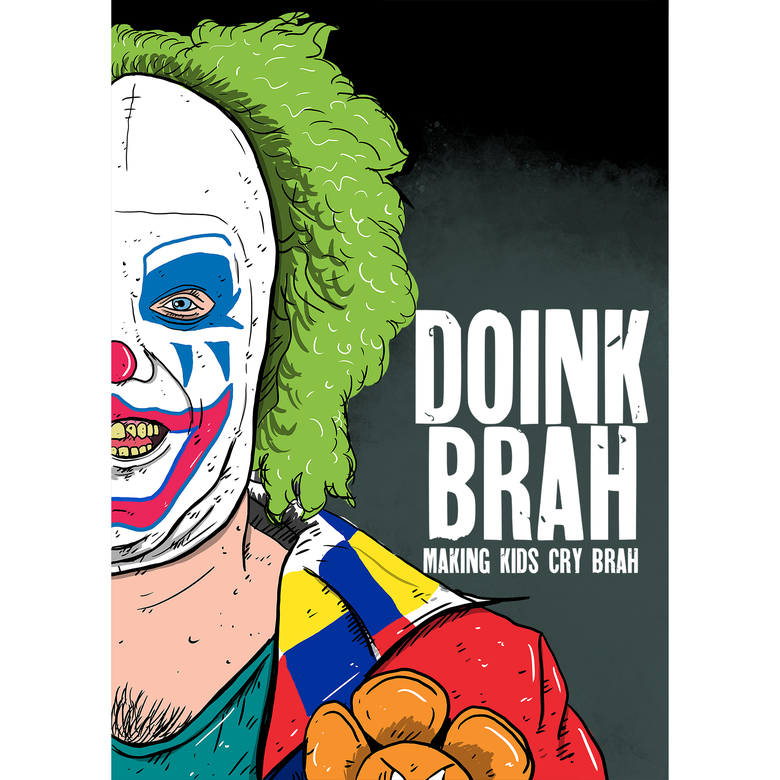 Image of Doink Brah A3 Print
