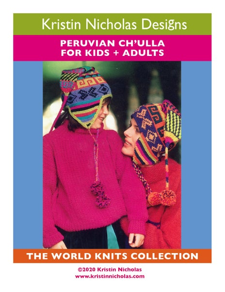 Image of Knit PDF - Peruvian Ch'ulla / World Knits Collection