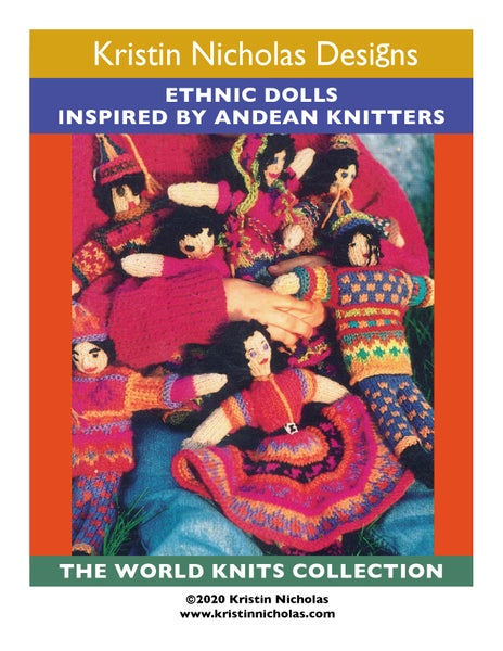 Image of Knit PDF - Eclectic Ethnic Dolls Download