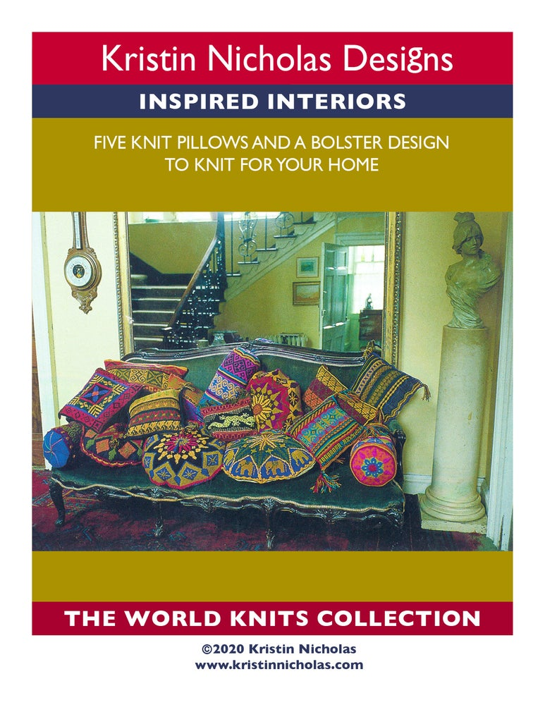 Image of Knit PDF - Inspired Interiors / World Knit Collection Download