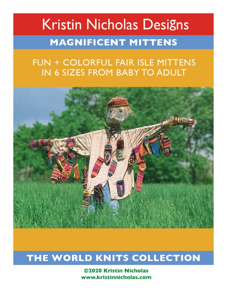 Image of Knit PDF - Magnificent Mittens / World Knits Collection Download