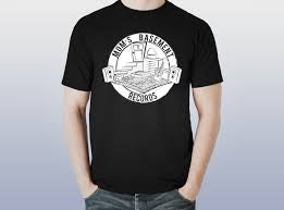 Image of Mom's Basement Records T-shirt
