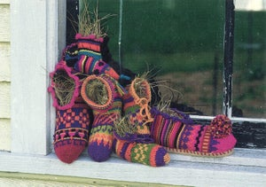 Image of Knit PDF - Magical Mocassins / World Knits Collection Download