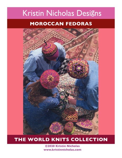 Image of Knit PDF - Moroccan Fedoras / World Knits Collection Download
