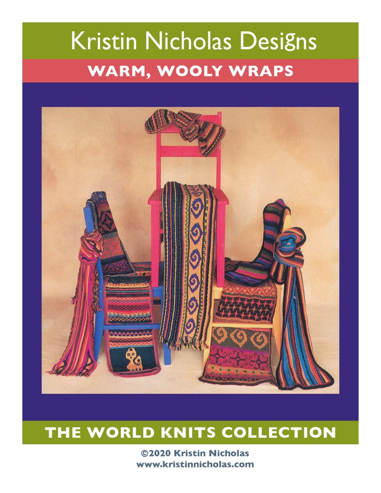 Image of Knit PDF - Warm, Wooly Wraps / World Knits Collection Download