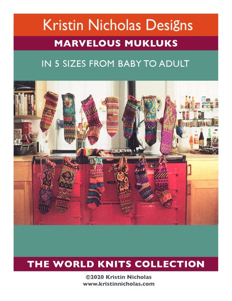 Image of Knit PDF - Marvelous Mukluks / World Knits Collection Download
