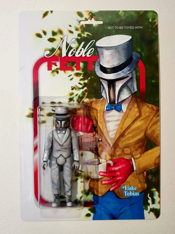 Image of Noble Fett art toy Prototype Edition