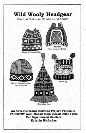 Image of Knit PDF - Wild, Wooly Headgear / World Knits Collection Download