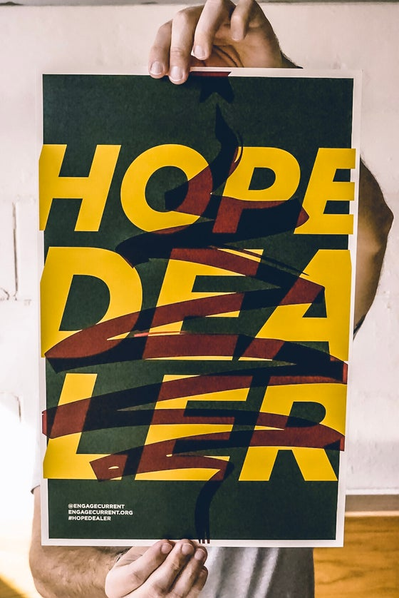 Image of Hope Dealer x Affordable Christmas Print - Green