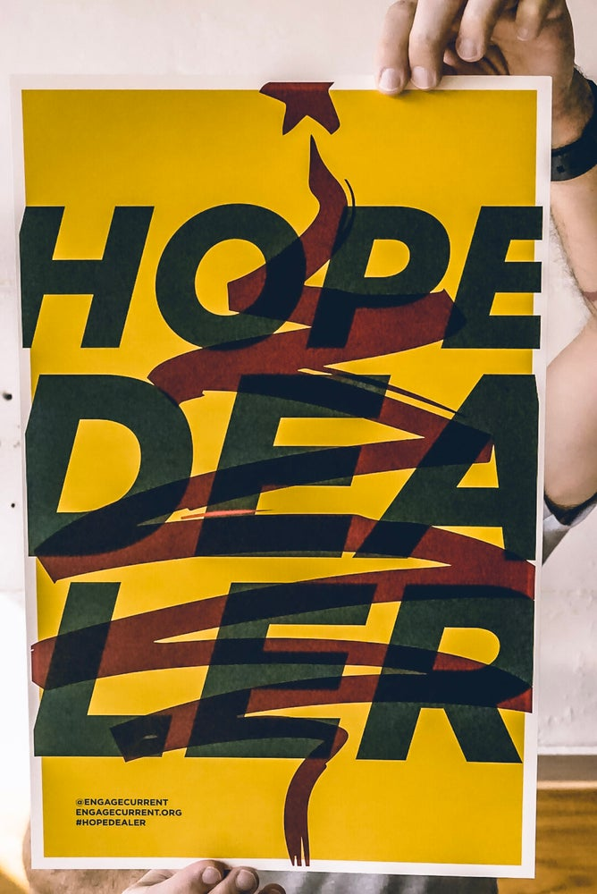 Image of Hope Dealer x Affordable Christmas Print - Yellow