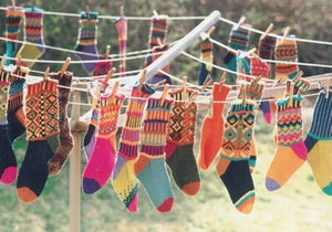 Image of Knit PDF - Ferociously Funny Socks / World Knits Collection Download