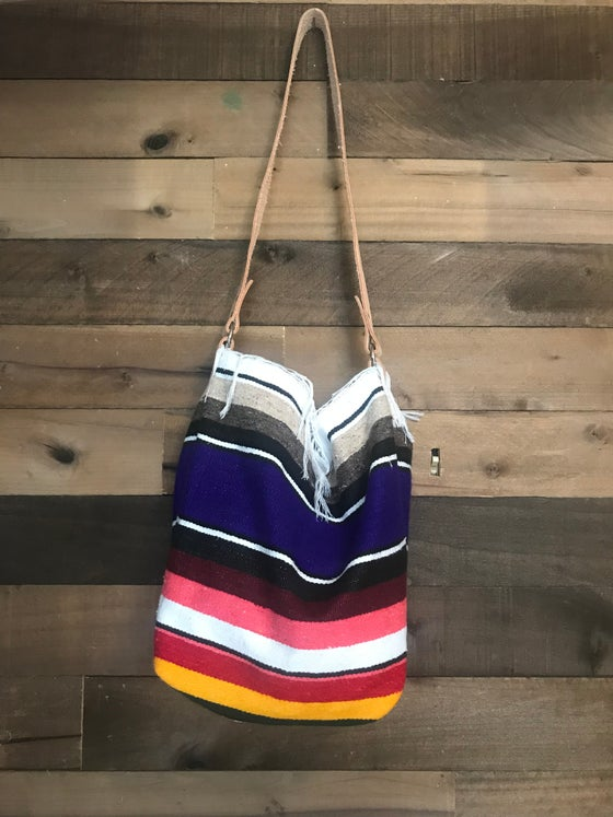 Image of Purple Serape Purse
