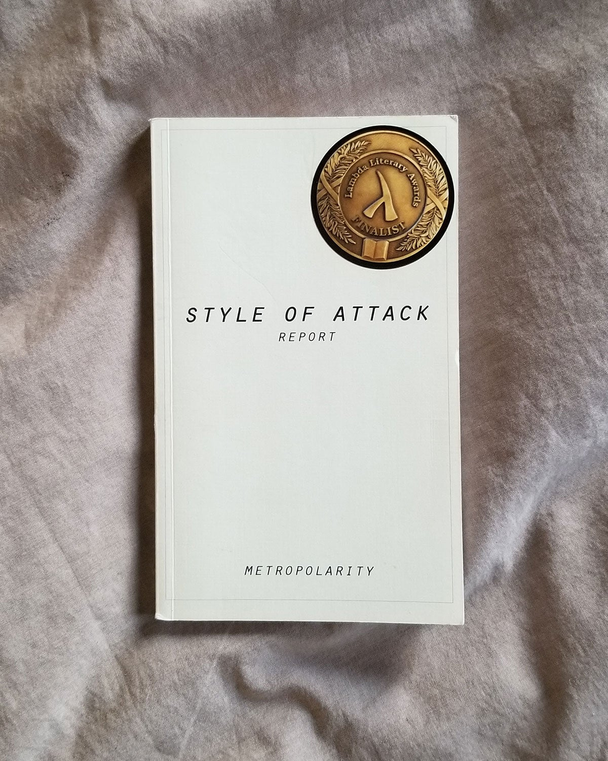 METROPOLARITY'S STYLE OF ATTACK REPORT