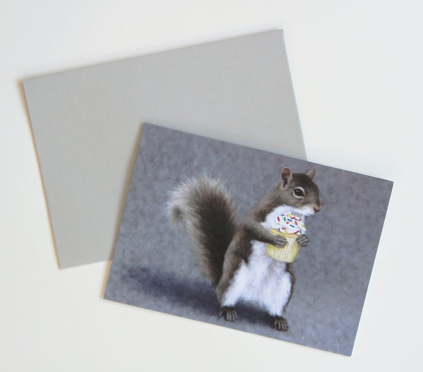 "Image of ""Sweet Tooth"" 2-Pack Greeting Cards"