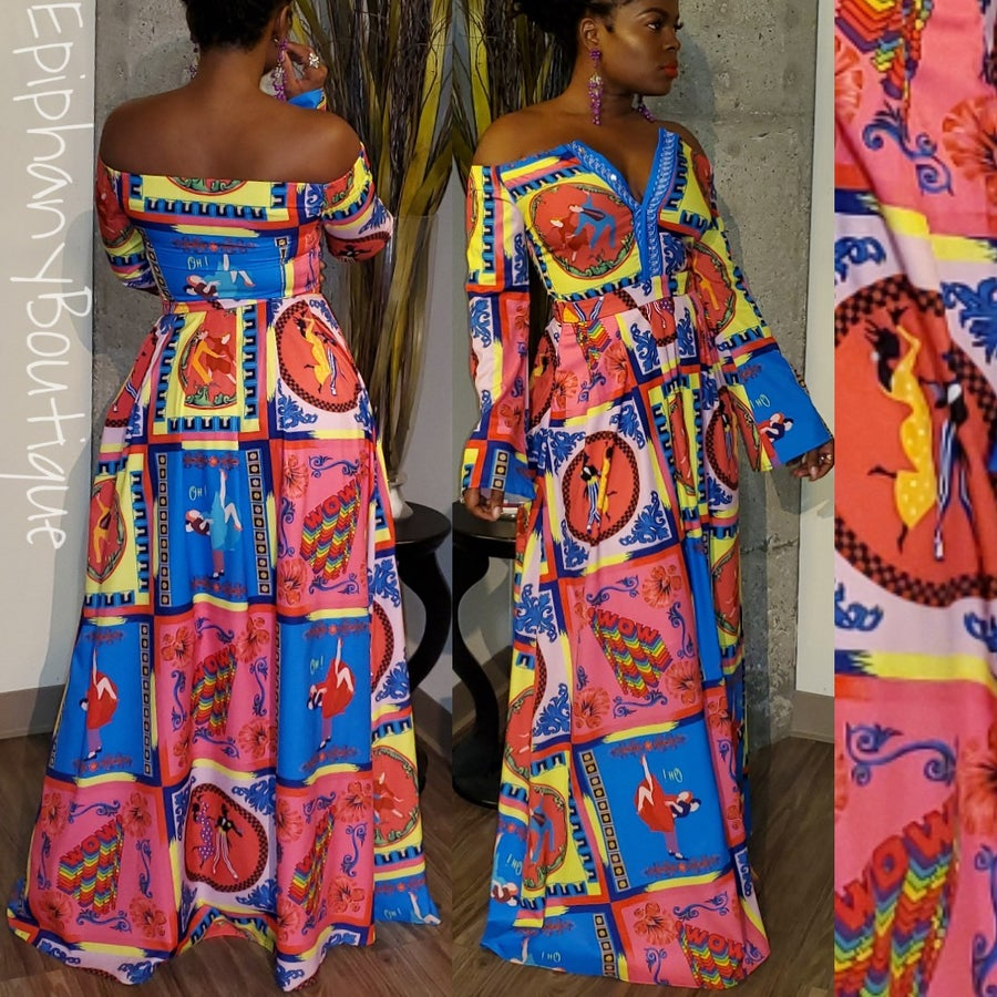 Image of The Katalina Dress-**Reg & Plus/Curvy**