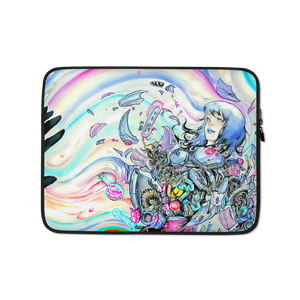 "Image of ""Disintegrate"" Laptop Sleeve Case"