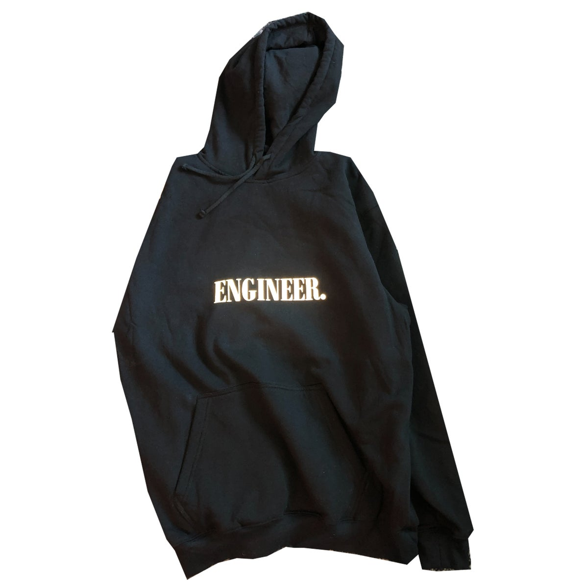 "Image of Engineer Hoodie ""Black"""