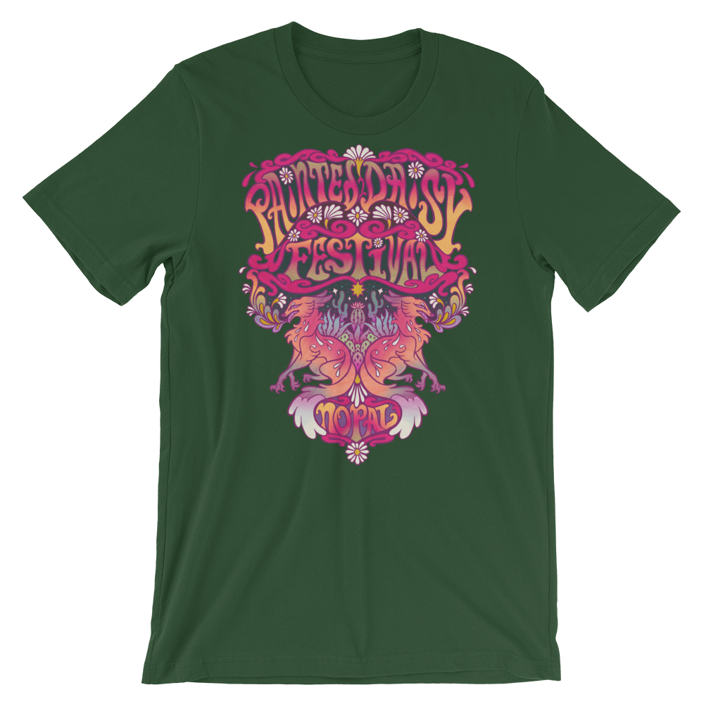 Image of Painted Daisy Festival T-Shirt