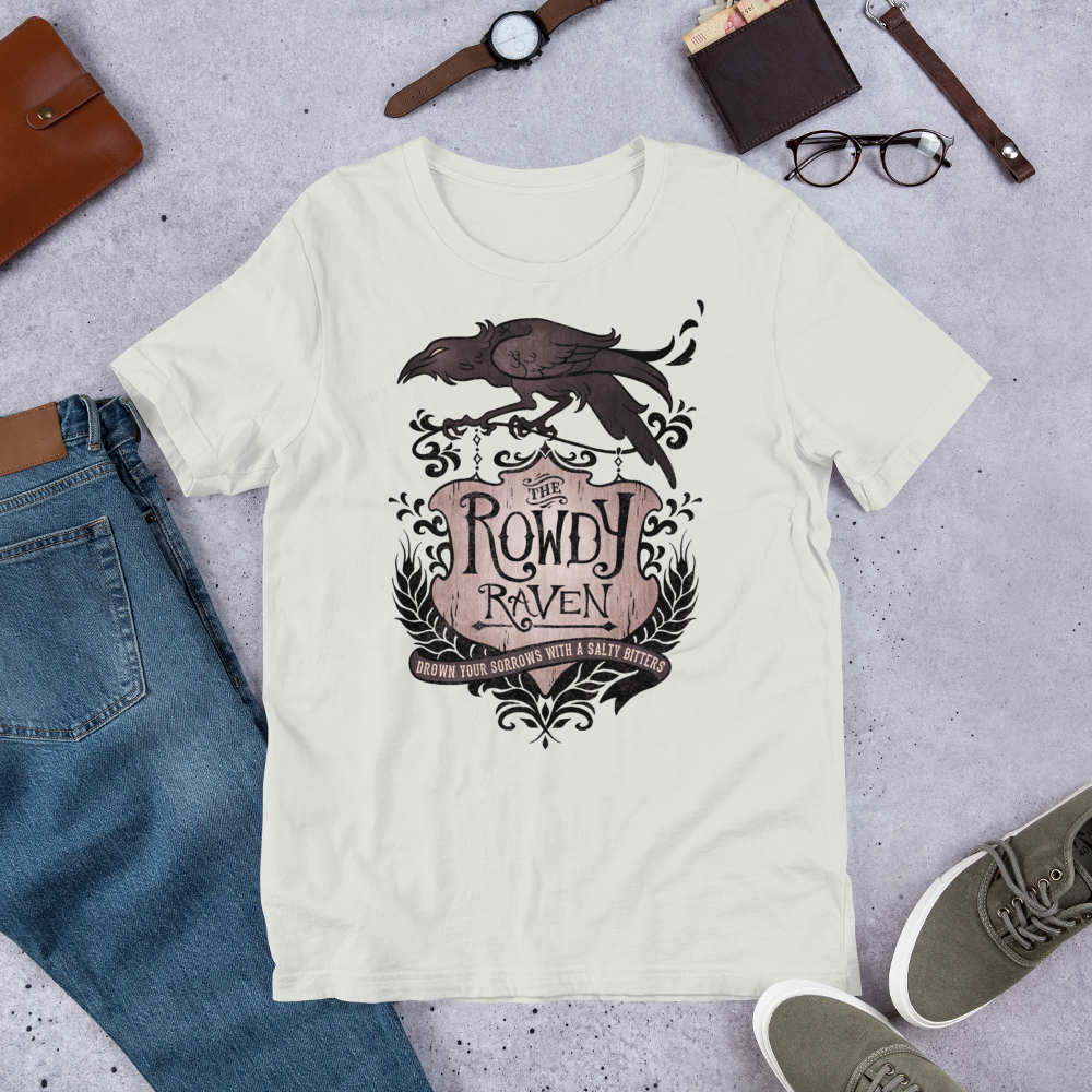 Image of The Rowdy Raven T-Shirt