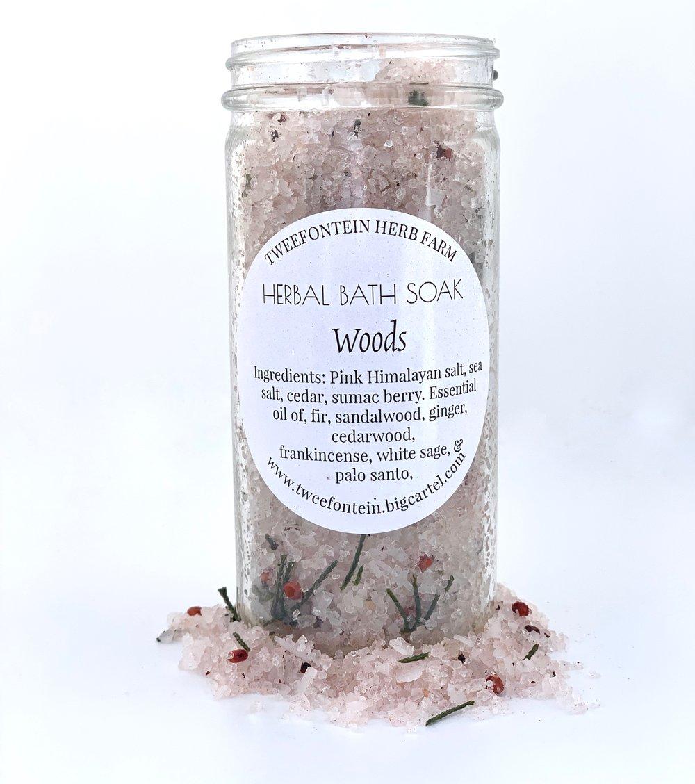 Image of Herbal Bath Soaks | Woods, Sweet Relief, Lavender, or Wild Rose