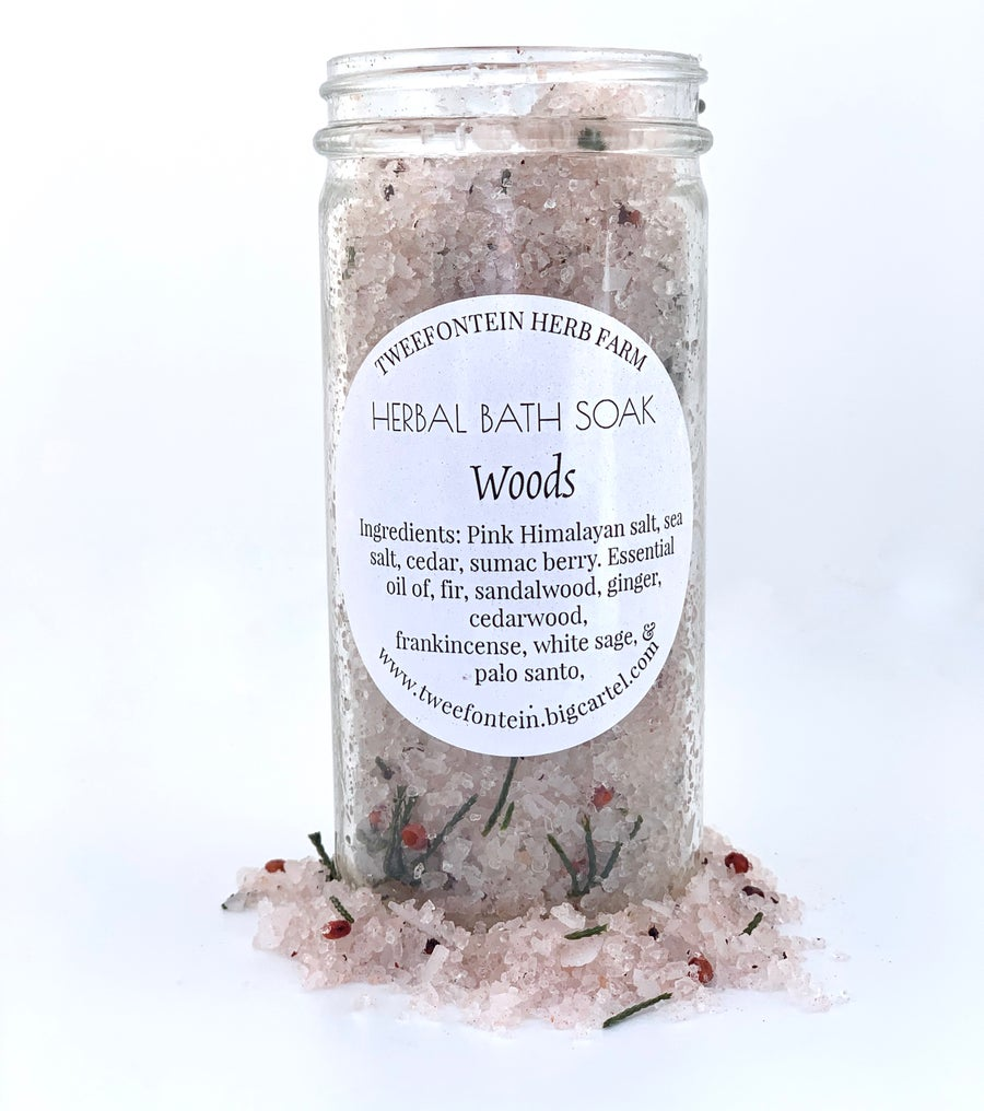Image of Herbal Bath Soaks | Woods, Sweet Relief, Lavender, or Wild Rose