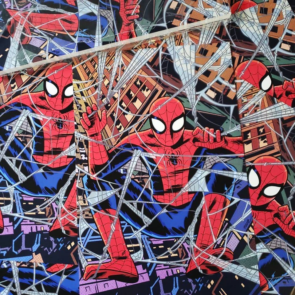 Image of 11x17 signed Spider-Man print