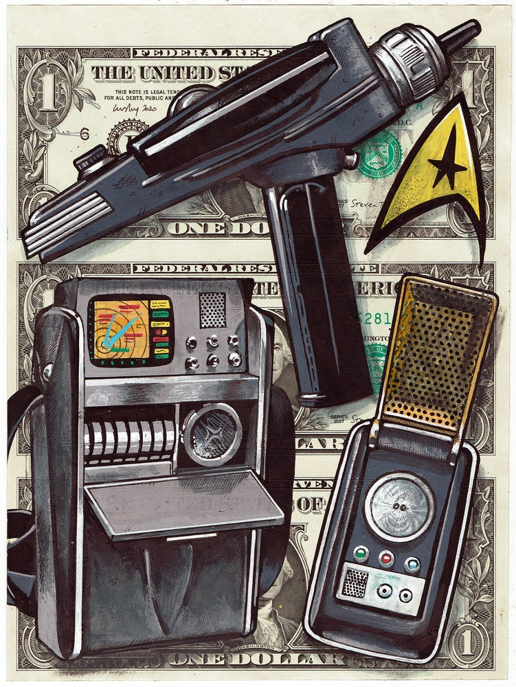 Image of Uncut Dollars Original. Nimoy's Toys
