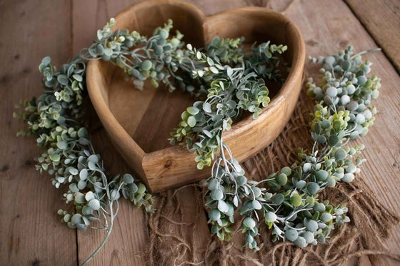 Image of Large Frosted Eucalyptus Garland