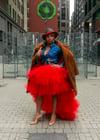 Slaying Diva Tulle Skirt - Red
