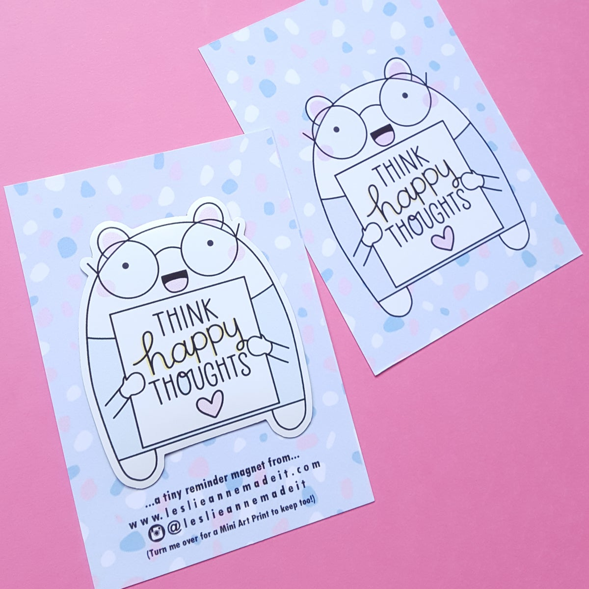 Tiny Reminder Magnets (& FREE mini prints!)