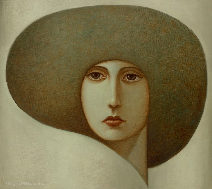Image of GEORGE UNDERWOOD 'IVORY' LIMITED EDITION SIGNED ART PRINT