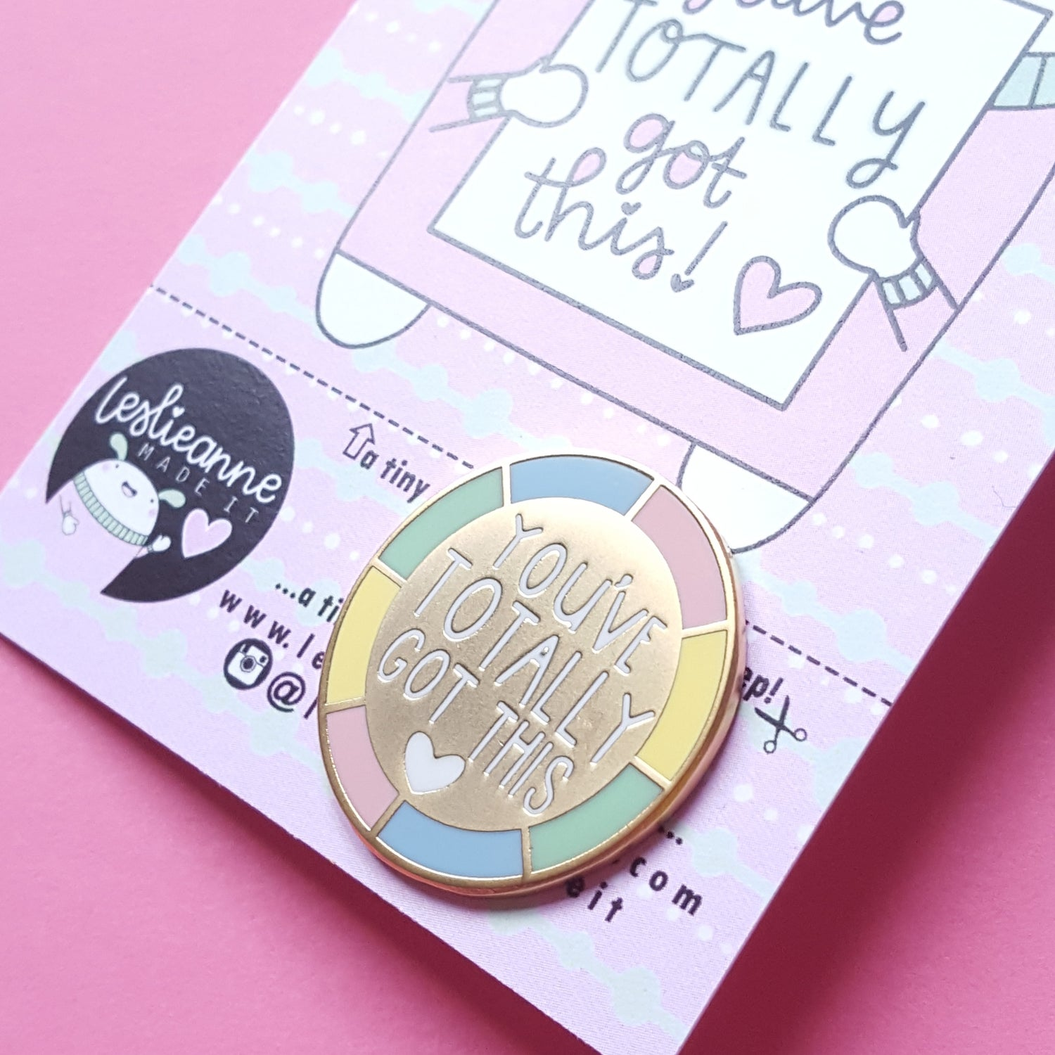 Image of Tiny Reminder Hard Enamel Pins