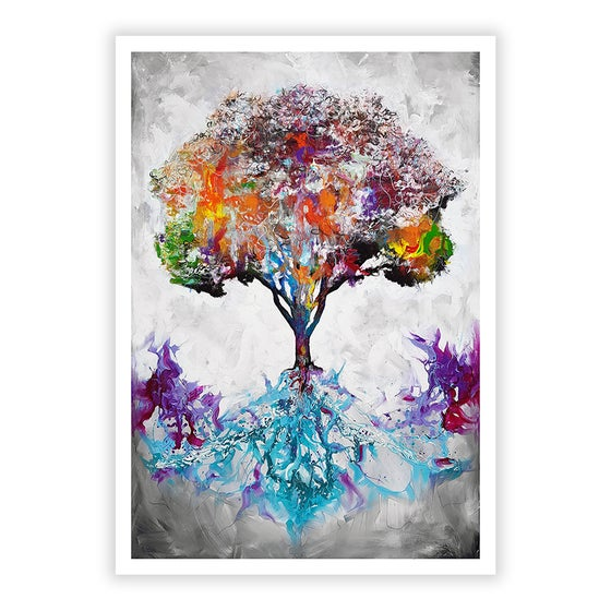 Image of Nourished From The Roots - Signed Open Edition Print - FREE WORLDWIDE SHIPPING!!!