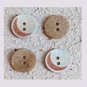 Image of Boutons paillettes  avec ou sans lune