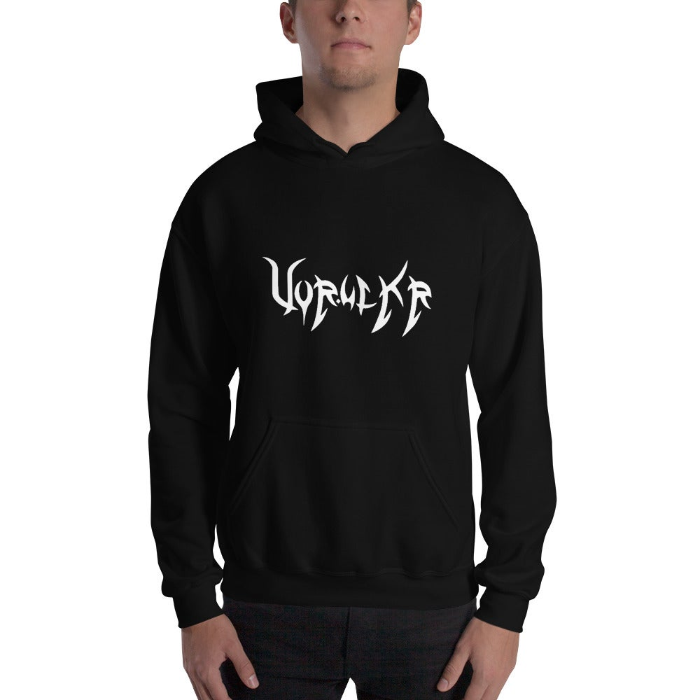 Image of Vor.ulkr Logo Hooded Sweatshirt