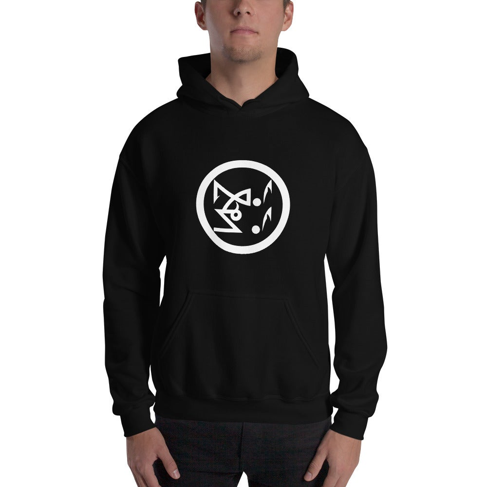 Image of Black Legions Circle's Seal Hooded Sweatshirt