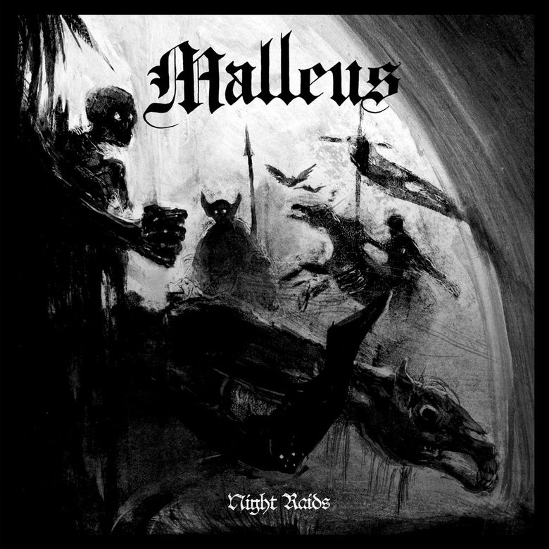 "Image of Malleus ""Night Raids"" LP w download + poster"