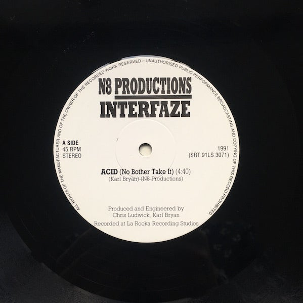 Image of N8 PRODUCTIONS - INTERFAZE 12""
