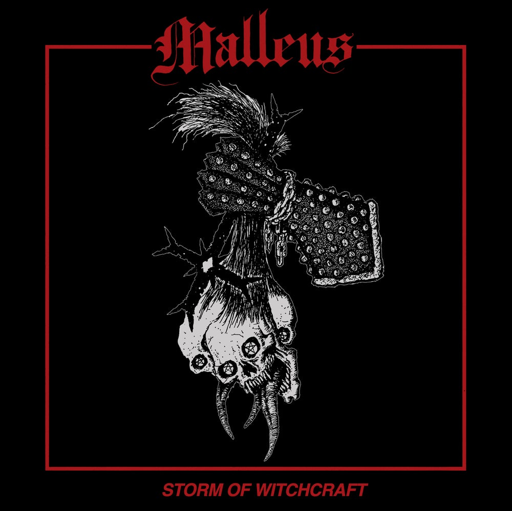"""Image of Malleus """"Storm Of Witchcraft"""" Cassette w/patch (Import)"""