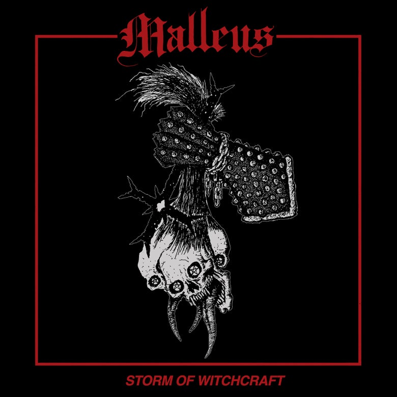 "Image of Malleus ""Storm Of Witchcraft"" Cassette w/patch (Import)"