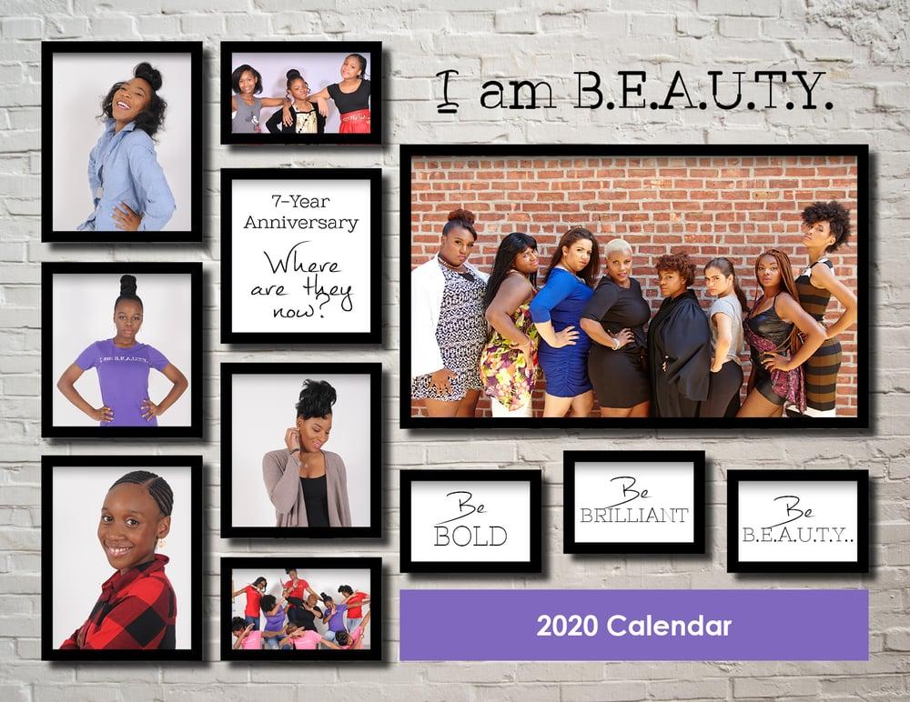 Image of I AM BEAUTY 2020 Calendar