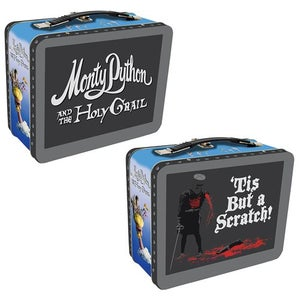 Image of Monty Python and the Holy Grail Black Knight Tin lunch box