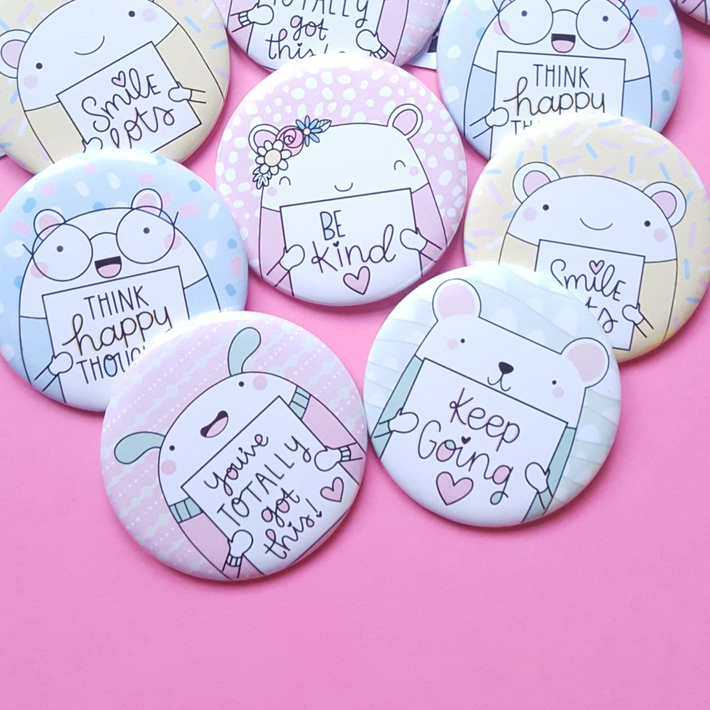 Image of Tiny Reminder Button Badges