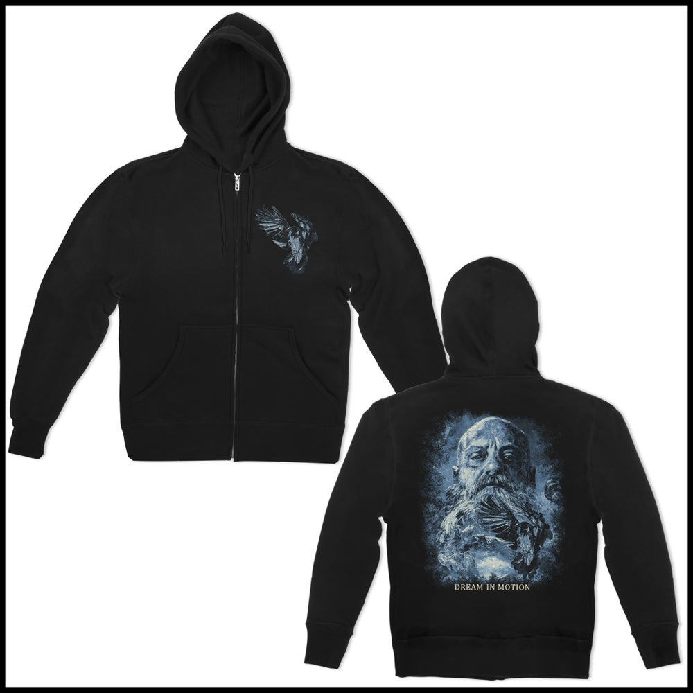 "Image of KIRK WINDSTEIN ""DREAM IN MOTION"" ZIP UP HOODED SWEATSHIRT"