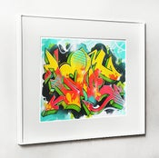 Image of 20X16 Graffiti Love Print