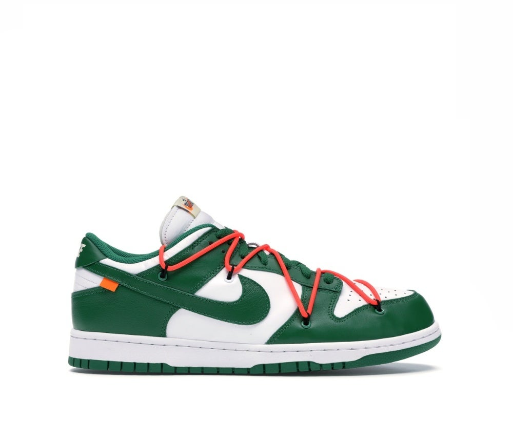 Image of NIKE DUNK LOW OFF-WHITE PINE GREEN CT0856-100